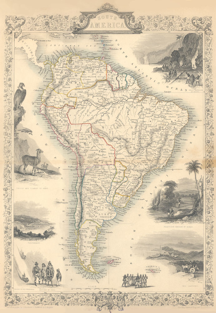 1800s Map Of America.Rare Books And Special Collections Maps Of South America Niu