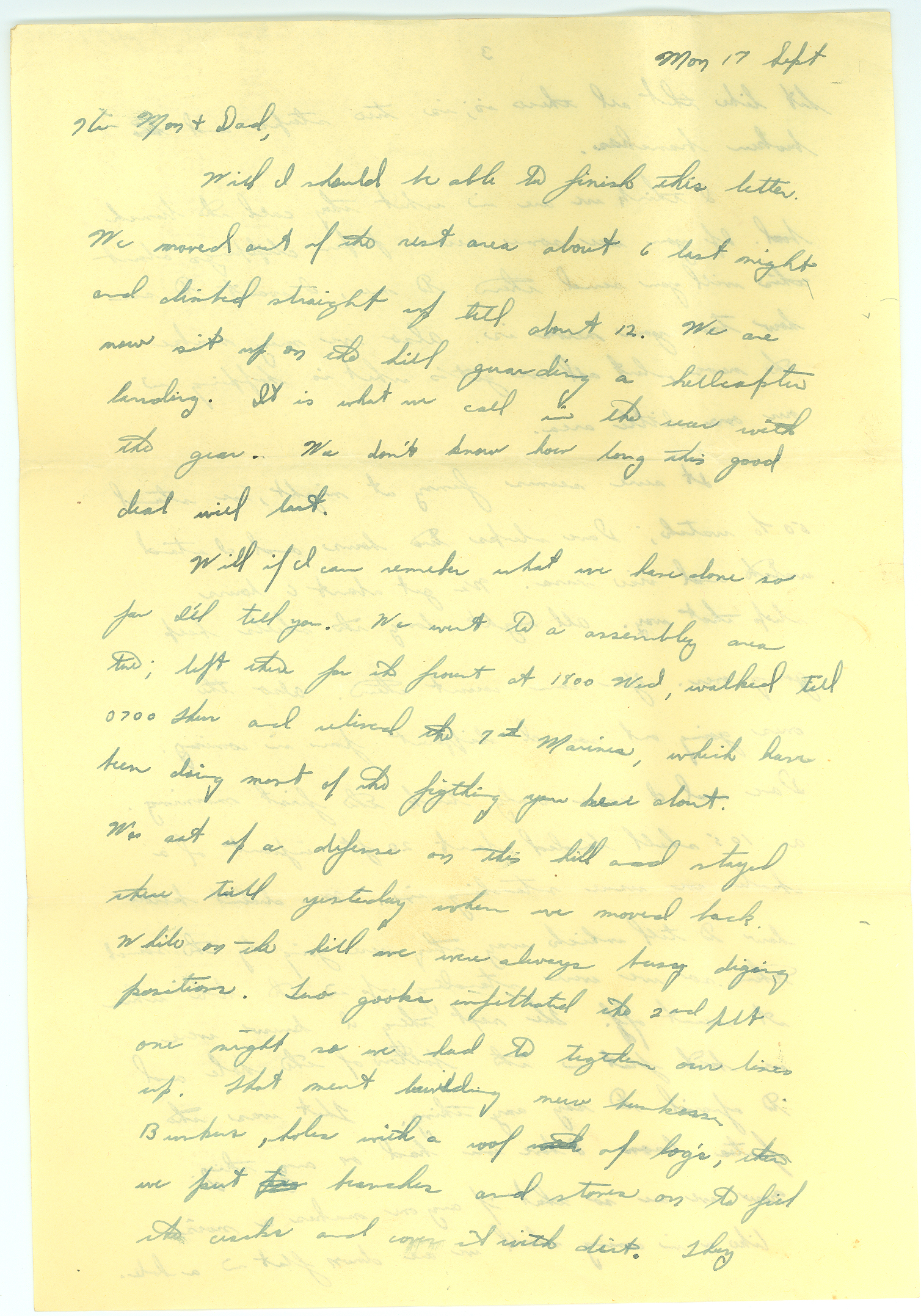 Writing A Letter In Korean Magazine Cover Letter Written On September 17,  1951 By Read To His Mom And Dad While Stationed